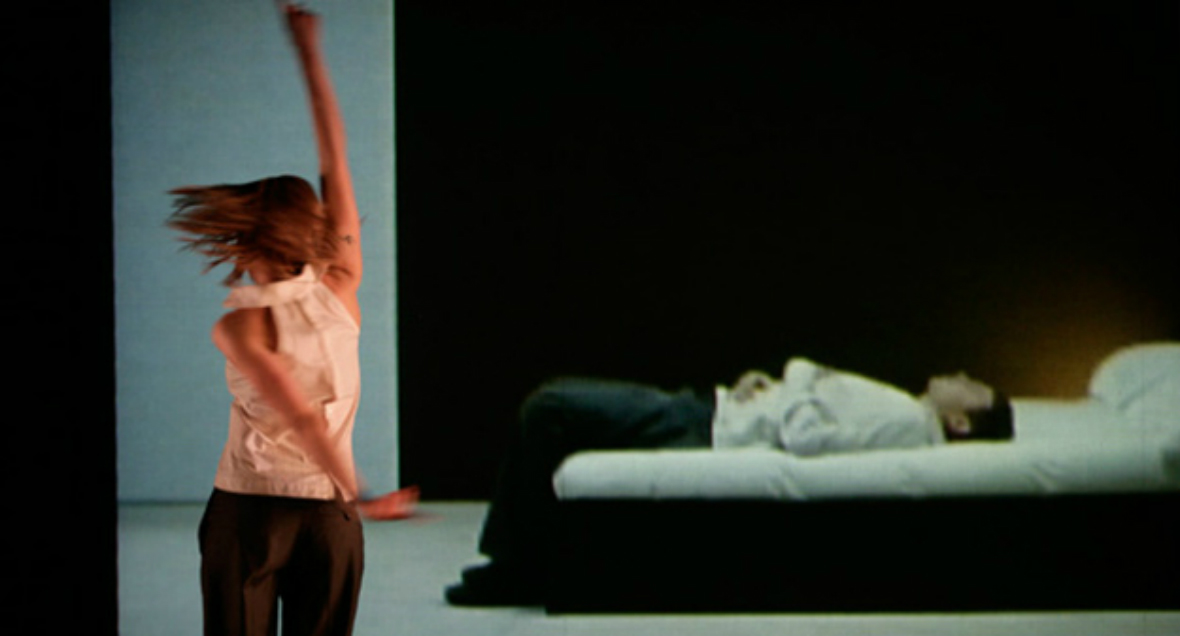 Dancers in Lucy Guerin's choreography Reservoir of Giving I and II, Love Me