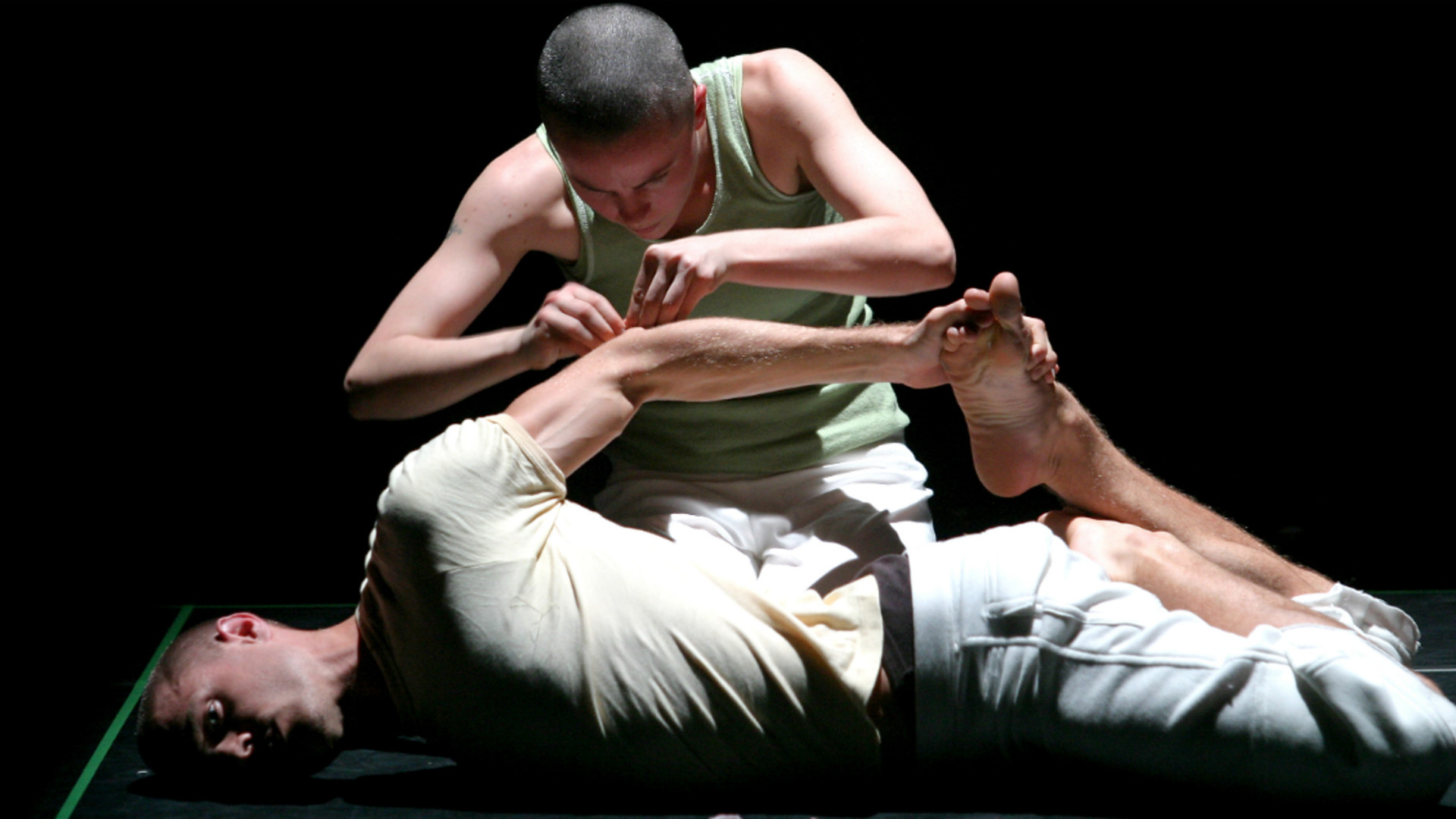 Dancers in Lucy Guerin's choreography Aether
