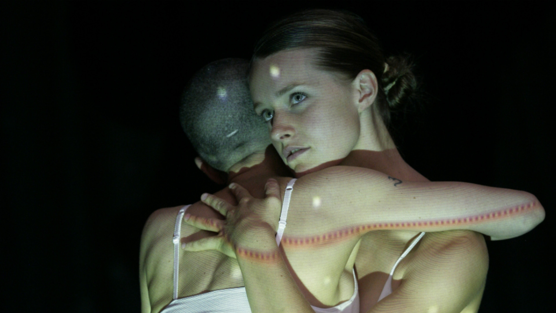 Dancers in Lucy Guerin's choreography Melt, Love Me