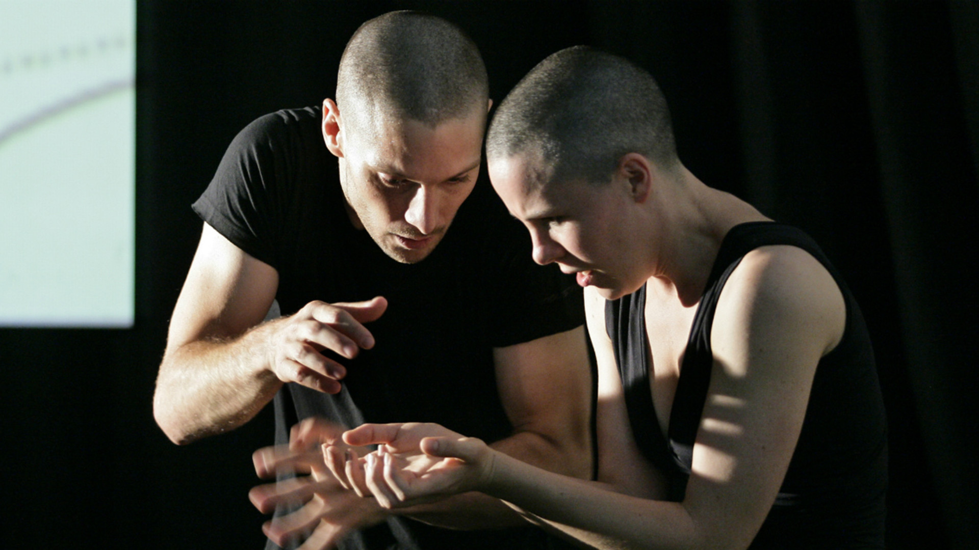 Dancers in Lucy Guerin's choreography On, Love Me